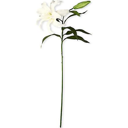 SIA HOME FASHION Casablanca lily stem in white 79cm