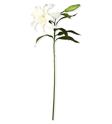 SIA HOME FASHION Casablanca lily stem in white 79cm