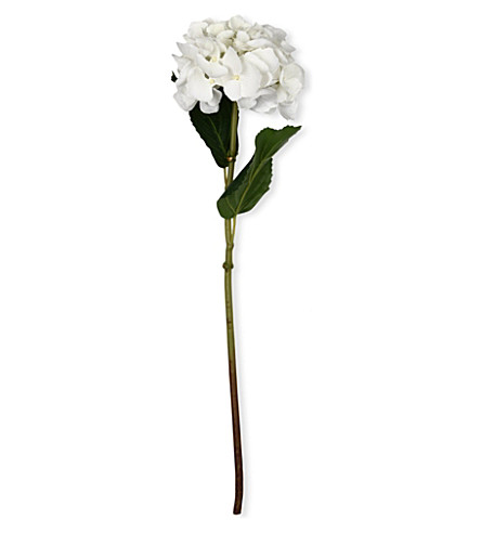 SIA HOME FASHION Hydrangea stem in white 46cm