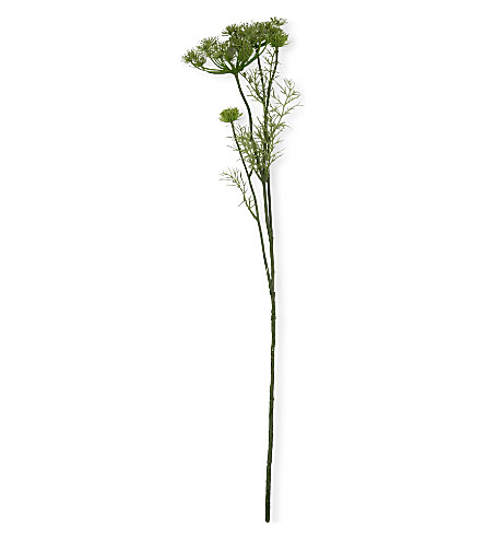 SIA HOME FASHION Queen Anne's lace spray in green 75cm