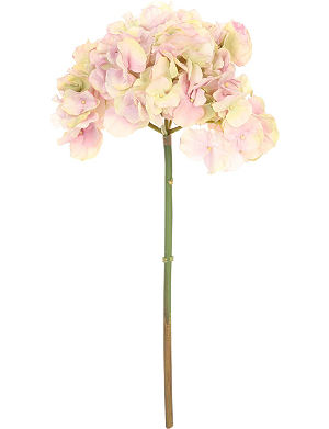SIA HOME FASHION Hydrangea stem artificial blush pink flower