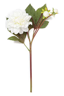 SIA HOME FASHION Dahlia spray stem in white 35cm