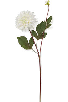 SIA HOME FASHION Dahlia spray stem in white 72cm