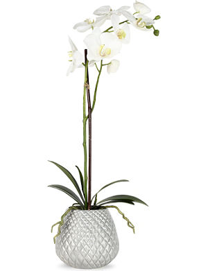 SIA HOME FASHION Phalaenopsis artificial plant in pot