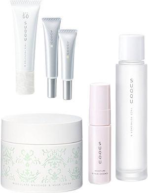 SUQQU Limited Edition Musculate Massage & Mask anti-ageing kit
