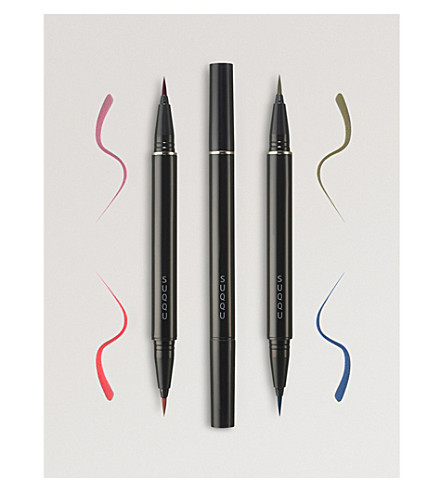 SUQQU Eyeliner Liquid Pen Duo limited edition (Bordeaux+and+red