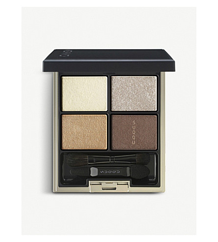 SUQQU Designing Color Eyes eyeshadow palette 08 (Yellow+x+champagne
