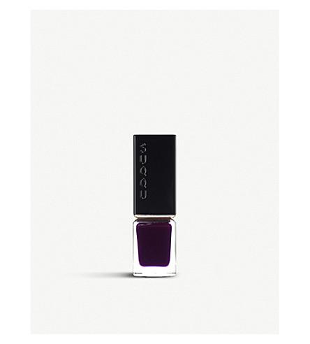 SUQQU Nail Polish (Clear+grape