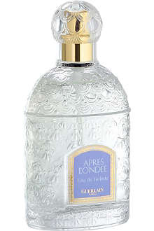 GUERLAIN Apres L'ondee eau de toilette white bee bottle 100ml