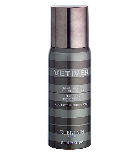 GUERLAIN Vetiver natural spray deodorant 150ml