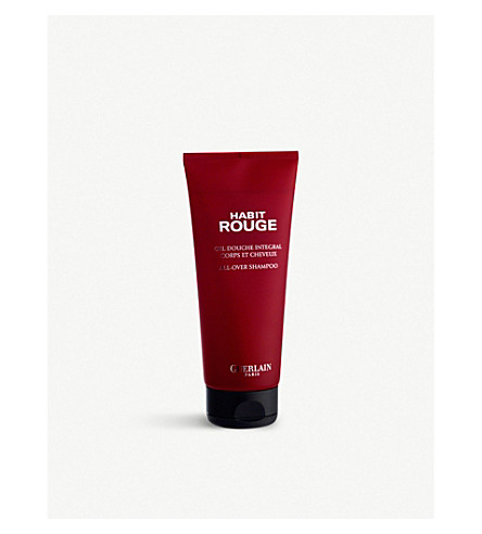 GUERLAIN Habit Rouge all over body shampoo 200ml