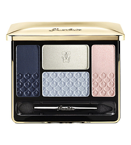 GUERLAIN Écrin 4 Couleurs long-lasting eyeshadow (Les+nuees