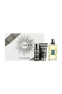 GUERLAIN Vetiver eau de toilette 100ml gift set