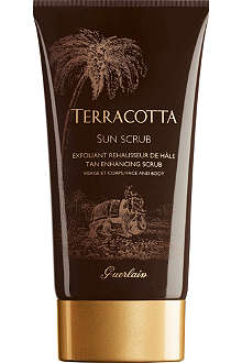 GUERLAIN Terracotta Sun tan-enhancing scrub - face and body 150ml