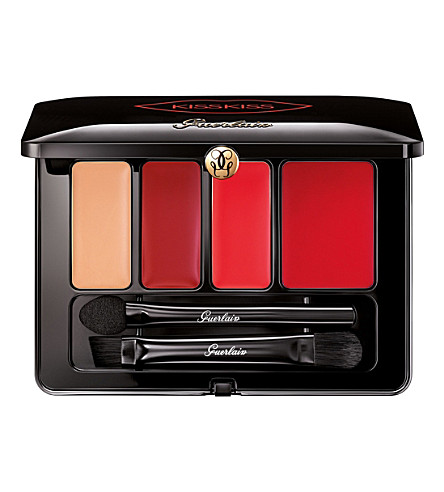GUERLAIN KissKiss Lip Palette (Red+passion