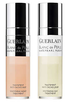GUERLAIN Blanc de Perle White P.E.A.R.L. Fusion whitening day & night treatment 2x15ml