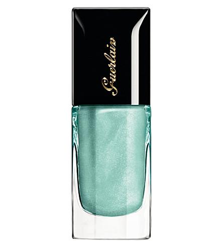 GUERLAIN Colour Lacquer nail polish (Blue+ocean