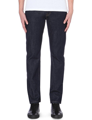 MCQ ALEXANDER MCQUEEN Classic skinny-fit tapered jeans