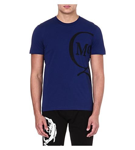 MCQ ALEXANDER MCQUEEN Logo t-shirt (Indigo