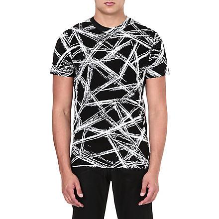 MCQ ALEXANDER MCQUEEN Scratch t-shirt (Black