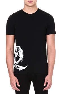 MCQ ALEXANDER MCQUEEN Scratched logo t-shirt