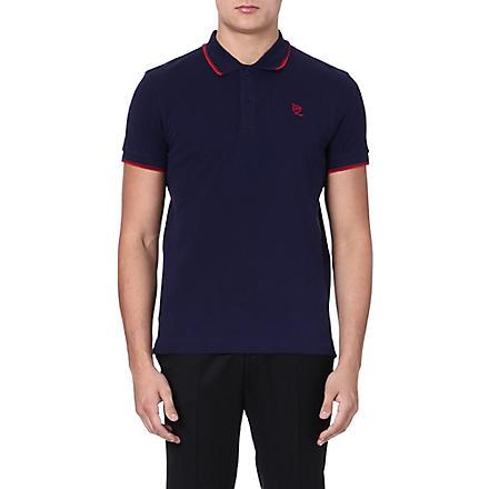 MCQ ALEXANDER MCQUEEN Logo polo shirt (Navy