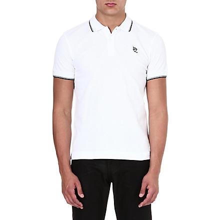MCQ ALEXANDER MCQUEEN Logo polo shirt (White