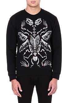MCQ ALEXANDER MCQUEEN Dino Skeleton sweatshirt