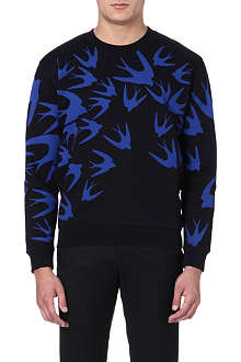 MCQ ALEXANDER MCQUEEN Swallow print sweatshirt