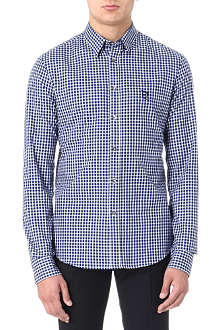 MCQ ALEXANDER MCQUEEN Checked harness shirt