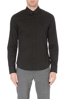 MCQ ALEXANDER MCQUEEN Harness stretch-cotton shirt