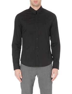 MCQ ALEXANDER MCQUEEN Harness stretch-cotton shirt
