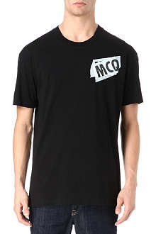 MCQ ALEXANDER MCQUEEN Tape logo t-shirt