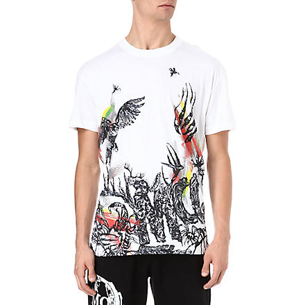 MCQ ALEXANDER MCQUEEN Toxic Animal t-shirt (White