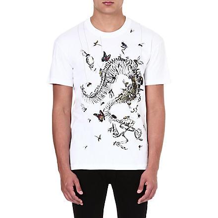 MCQ ALEXANDER MCQUEEN House of Horrors t-shirt (White