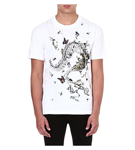 MCQ ALEXANDER MCQUEEN House of Horrors t-shirt (White