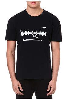 MCQ ALEXANDER MCQUEEN Razor logo t-shirt