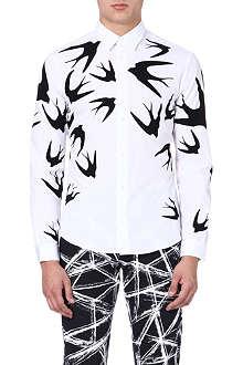 MCQ ALEXANDER MCQUEEN Swallow print shirt