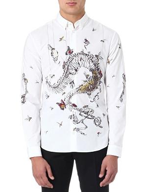 MCQ ALEXANDER MCQUEEN Butterfly Spine shirt