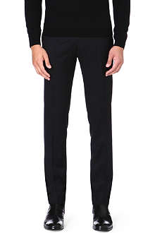 MCQ ALEXANDER MCQUEEN Wool-blend tapered trousers