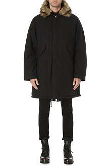 MCQ ALEXANDER MCQUEEN Military hooded parka coat