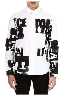 MCQ ALEXANDER MCQUEEN Lee print graphic shirt