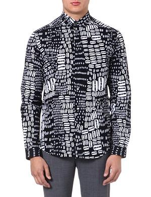 MCQ ALEXANDER MCQUEEN Razor-print cotton shirt