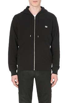 MCQ ALEXANDER MCQUEEN Razor plaque cotton-jersey hoody