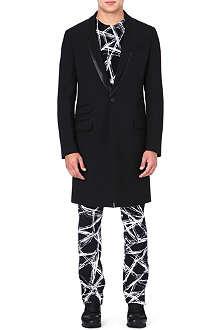 MCQ ALEXANDER MCQUEEN Black tuxedo coat