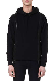MCQ ALEXANDER MCQUEEN Zip-detailed hoody