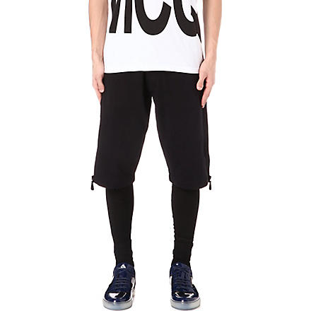 MCQ ALEXANDER MCQUEEN Zip detail shorts (Black