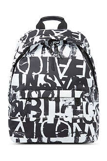 MCQ ALEXANDER MCQUEEN Text-print backpack