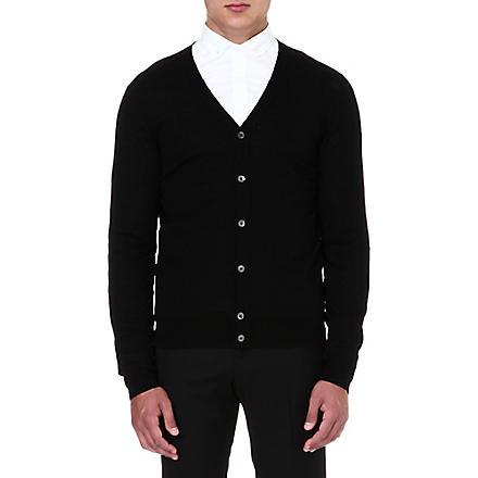 MCQ ALEXANDER MCQUEEN Classic v-neck cardigan (Black