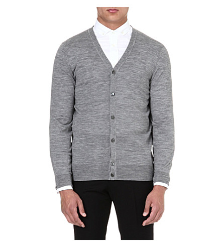 MCQ ALEXANDER MCQUEEN Classic v-neck cardigan (Grey
